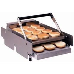 Toaster contact pour pain burger