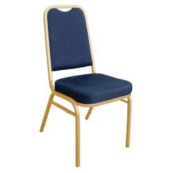 Chaises bleu de banquet et hotel