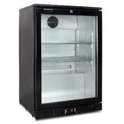 Arrière-bar réfrigéré - 1 porte vitrée battante - 130 litres - Garantie 2 ans - Classe N