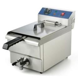 Friteuse électrique professionnel 16 litres 6 kw/ 380  volts