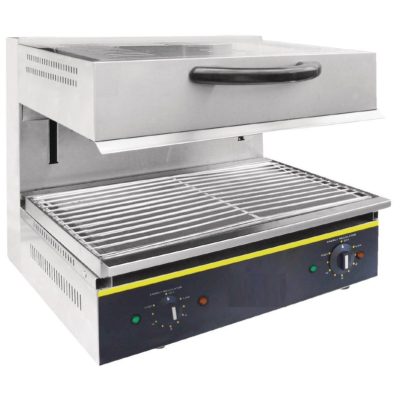 Salamandre grill 1 niveau professionnel 230v - Grill electrique professionnel ...