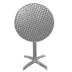 Table ronde Bistro sur pied basculante
