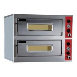Four à pizzas électrique - LARGE - TOUT REFRACTAIRE - 2 x 6 pizzas - PIZZA GROUP