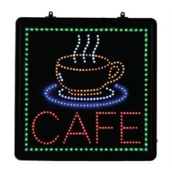 Enseigne LED CAFE