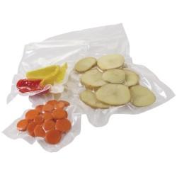 Sacs d'emballage sous-vide - GAUFRES - Lot de 50 - 150 x 350 mm.