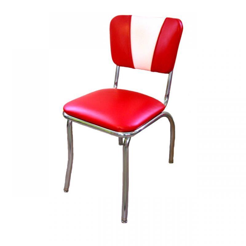 chaise de diner americain vintage rouge gastromastro group sas. Black Bedroom Furniture Sets. Home Design Ideas