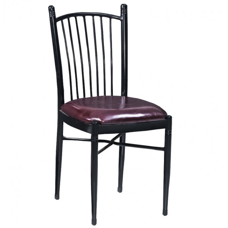 chaise bistro sky m tal bordeaux gastromastro group sas. Black Bedroom Furniture Sets. Home Design Ideas