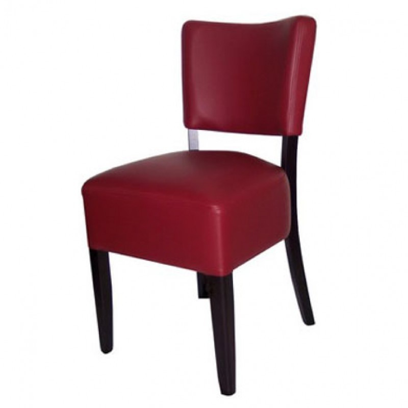 Chaises En Simili Cuir Rouge Gastromastro Group Sas