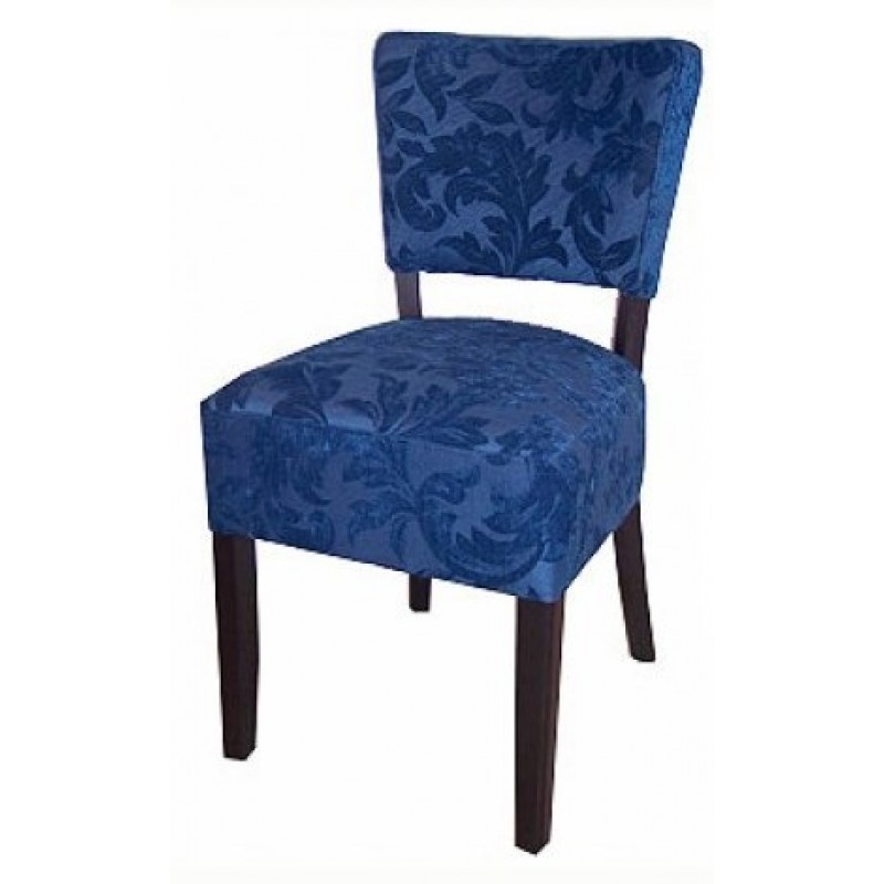 Chaises en mi bleu gastromastro group sas for Chaises simili cuir marron