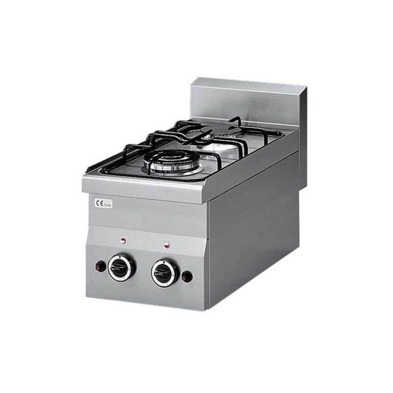Cuisinière 2 feux gaz, -Top-