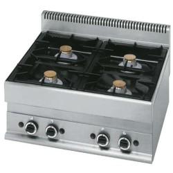 Cuisinière 5 feux gaz, -Top-