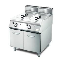 Friteuse Electrique Monobloc 2x10 litres GASTROMASTRO SERIE 700
