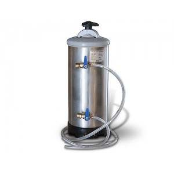 Lave-verres professionnel inox panier carre 400x400 mm+ pompe de vidange