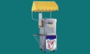 Machine à glace italienne professionnelle et yaourt glacé