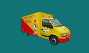 Food truck – Camion à pizza , à Burger,  à Crêpes