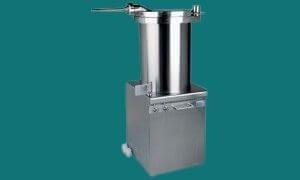 Poussoir à viande manuel et poussoir hydraulique de boucherie