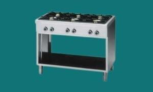 Ligne de cuisson 650mm - Grill - plaque de cuisson pas cher