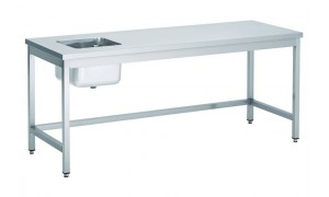 Table du chef inox