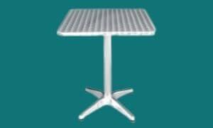 Table de terrasse carrée Ø 60