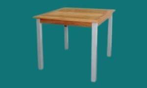 Table de terrasse carrée Ø 120