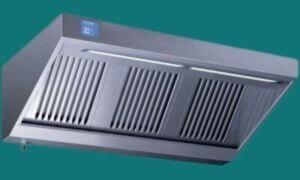 Hotte  900mm avec moteur  variateur et éclairage