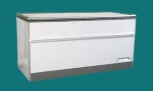 Congélateur coffre porte vitrée - congélateur opaque