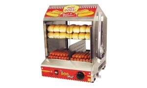 Machine à hot-dog  - Chauffe pain - Garantie 2 ans